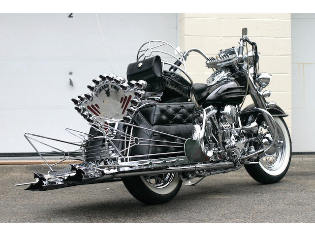 1958 Harley-Davidson 74ci FLH Dresser Engine no. 58FLH2244