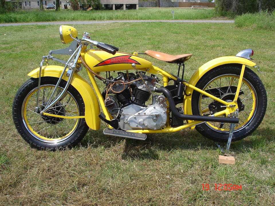 1929 Indian-Crocker 45ci Overhead-Valve Conversion Engine no. GBOHV05