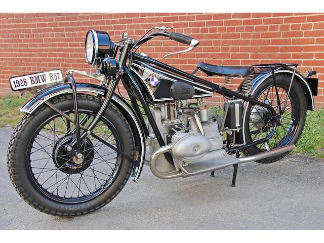 1928 BMW R57 Frame no. 70403 Engine no. 70403