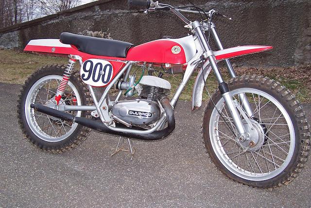 The ex-Jim Pomeroy,1970 Bultaco Pursang Mk4 Frame no. B-6803411 Engine no. M-6803411
