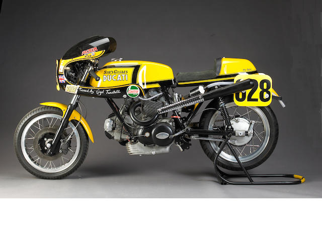 Ex-Syd Turnstall,1973 Ducati 750 Sport 885cc Racing Motorcycle 'Old Yella'