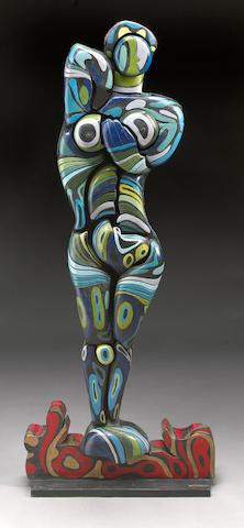 Naum Knop (Argentinian, 1917-1993) Tropical, 1972 56 x 10 x 22 1/4in (142.2 x 25.4 x 56.5cm)