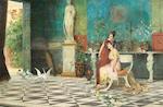 Ettore Forti (Italian, active 1880-1920) A tranquil interlude 16 1/2 x 25 3/4in (41.9 x 67.9cm)