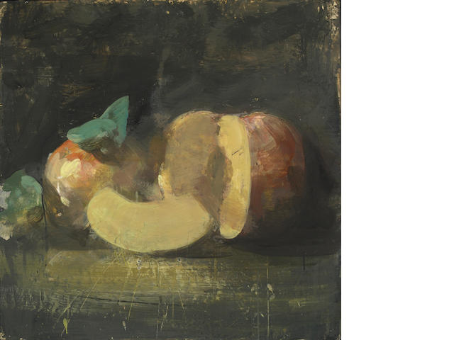 Tony Scherman (Canadian, b.1950) Still Life with Apples, 1996/1997 30 x 30in (76 x 76cm)