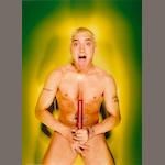 David LaChapelle (American, b.1964) About to Blow 66 1/2 x 48 1/4in (168.9 x 122.5cm)