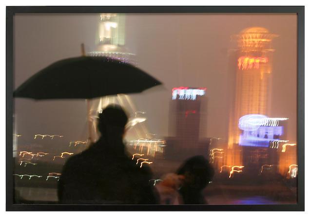 Leonardo Kossoy (Brazilian, b.1943) Metrópole, Xangai, China, 2004 43 x 64 1/2in (109.2 x 163.8cm)