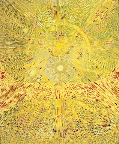 Lee Mullican (American, 1919-1998) Untitled 24 x 20in (61 x 51cm)