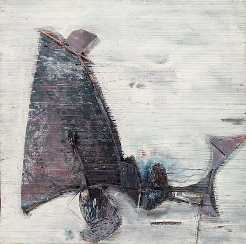Edward Kienholz (American, 1927-1994) Untitled, 1958 48 x 48in (122 x 122cm)