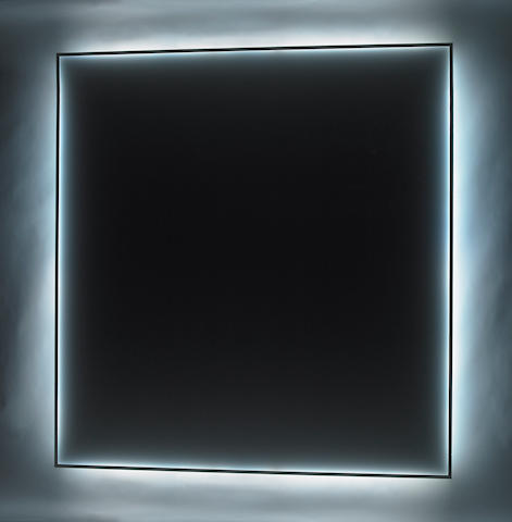 Douglas Wheeler (American, b.1939) Untitled (Light Encasement), c.1968 88 1/2 x 83 1/2in (224.8 x 212.1cm)