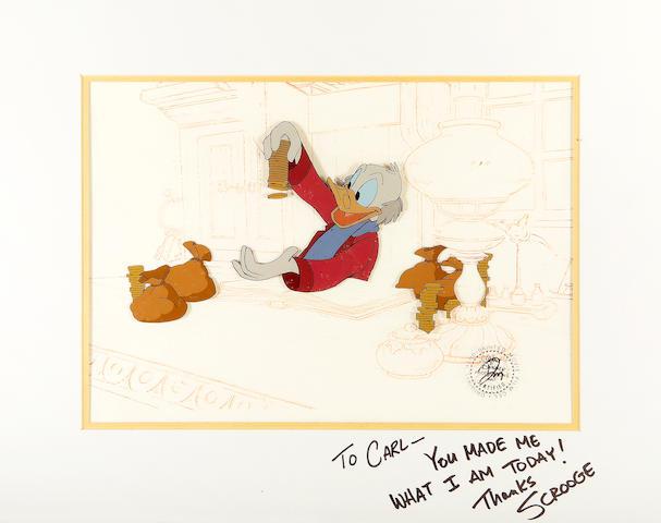 WD cel from Mickey's Xmas Carol