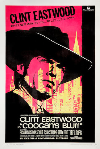 Three Clint Eastwood posters