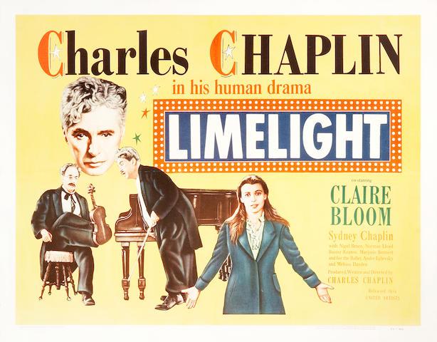 3 Charlie Chaplin half-sheets