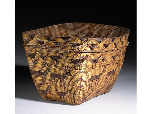 A Chilcotin basket