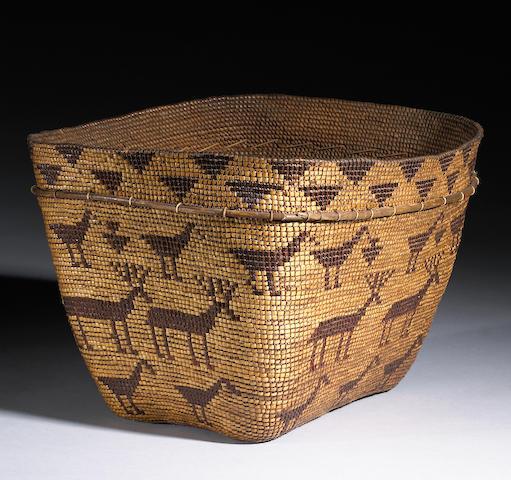 A Chilcotin basket