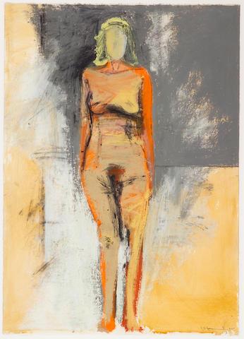 Manuel Neri (American, b.1930) Jo III, 1995 41 1/2 x 29 1/2in (105 x 75cm)
