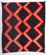 A Navajo late classic Moki blanket, 5ft 8in x 5ft