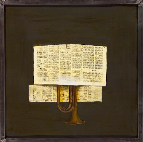 Deborah Oropallo (American, b.1954) Trumpet , 1990 28 x 28in (71 x 71cm)