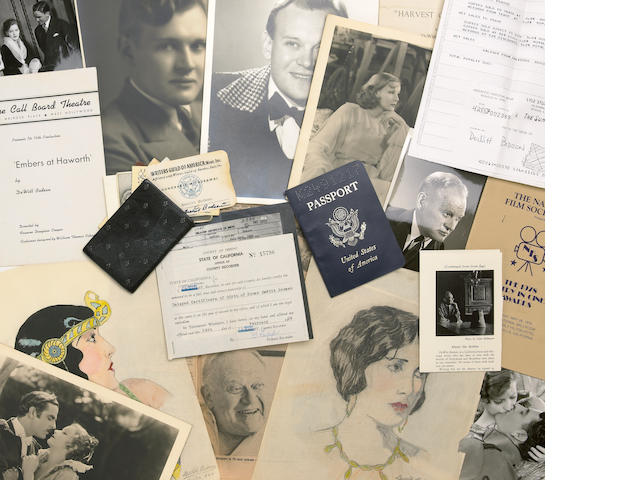 A DeWitt Bodeen archive of ephemera relating to his Hollywood career, 1920s-1980s