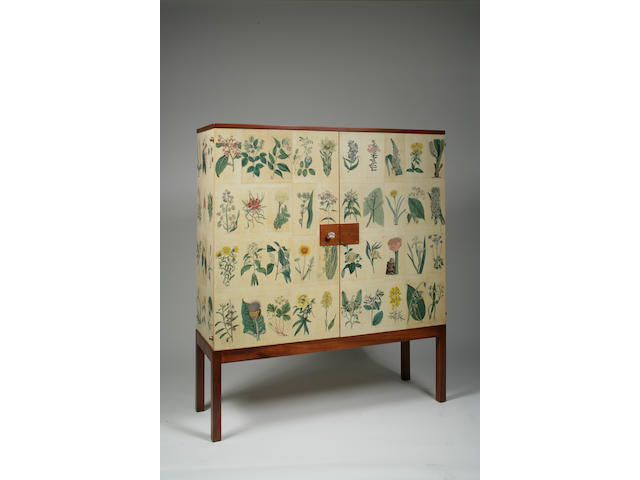 A Josef Frank cabinet on stand, circa 1949