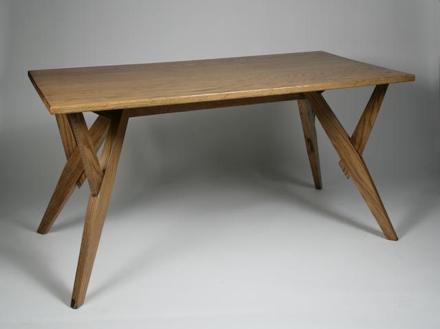 Outstanding Bonhams A Carlo Molino Oak Dining Table Inzonedesignstudio Interior Chair Design Inzonedesignstudiocom