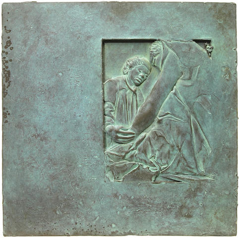 Robert Graham (American, b.1938) Franklin Delano Roosevelt Memorial Plaque, Social Programs, 1996 12