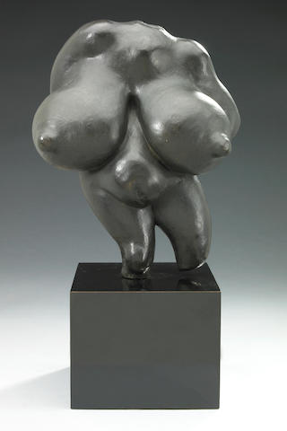 Gaston Lachaise (French, 1882-1935) Torso 9 1/2 x 3 7/8 x 8in (24 x 9.5 x 20.2cm)