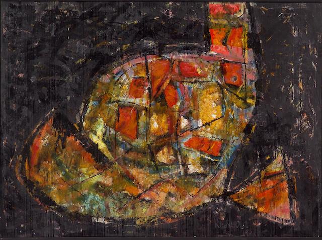 Edward Kienholz (American, 1927-1994) Untitled 32 x 44in (81.3 x 111.8)