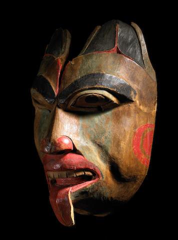 A Tlingit mask