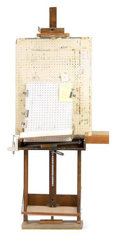 Carl Barks - Wooden Studio Easel