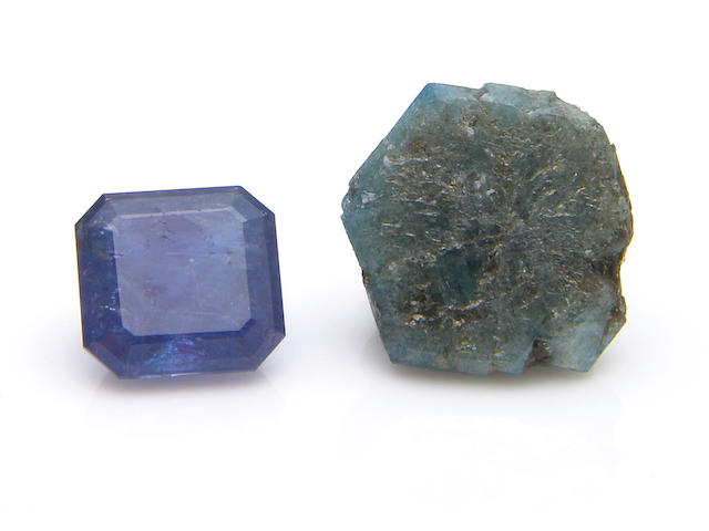 Alexandrite Rough and Cut