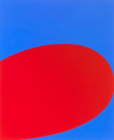 Ellsworth Kelly (American, b.1923); Untitled (Red/Blue) from Ten Works x Ten Painters;