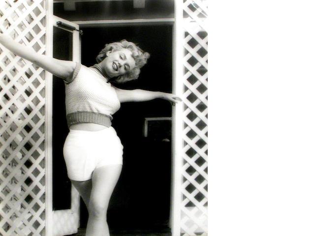 Andre de Dienes Marilyn Monroe, Bel Air Hotel, Stone Canyon;