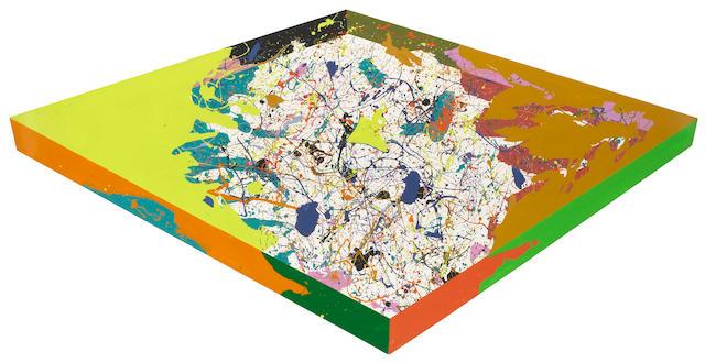 Ronald Davis (American, b.1937) Two Cornered Slab, 1969 irregular 93 x 54in (236 x 137cm)