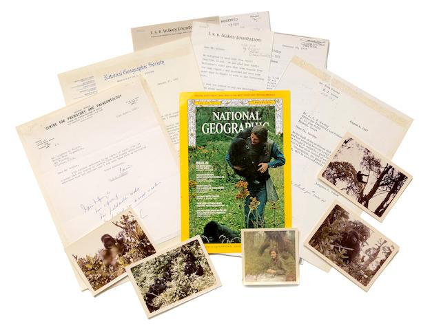 Louis Leakey / Dian Fossey Archive