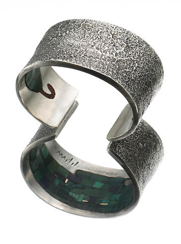 A Hopi bracelet, Charles Loloma