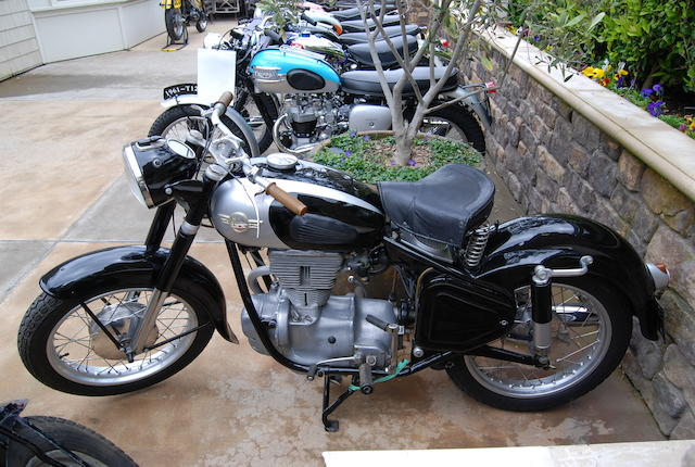 1959 Simson 250cc Frame no. 189846 Engine no. 189846