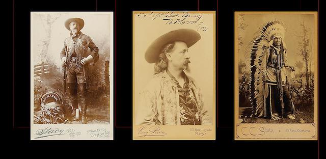 Three carte-de-visite photographs