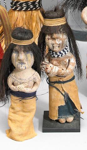Two Yuma dolls