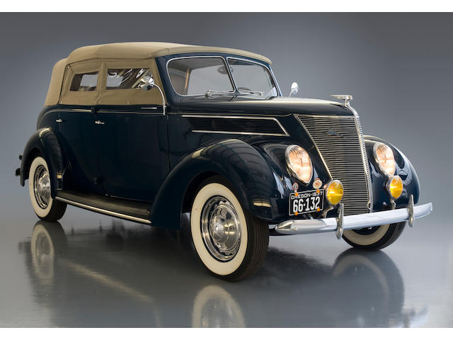 1937 Ford Model 78 Deluxe Phaeton  Chassis no. 183614546