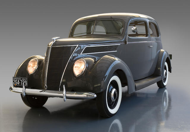 From the 2006 Documentary The Eloquent Nude,1937 Ford Model 78 Standard Tudor Sedan  Chassis no. 220872