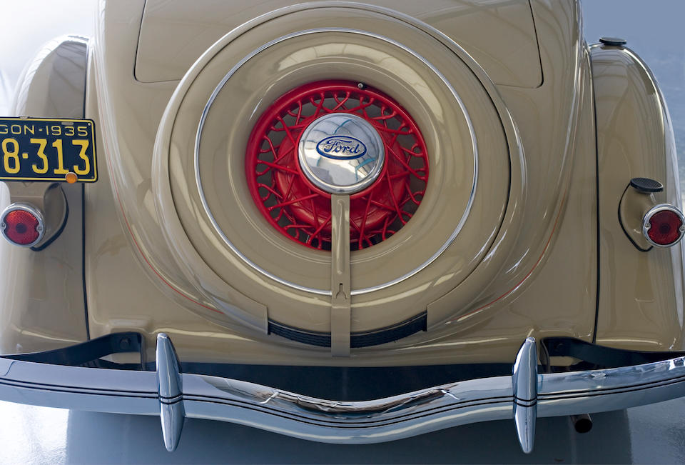 The Dearborn Award-Winning,1935 Ford Model 48 Deluxe Roadster  Chassis no. 182050750