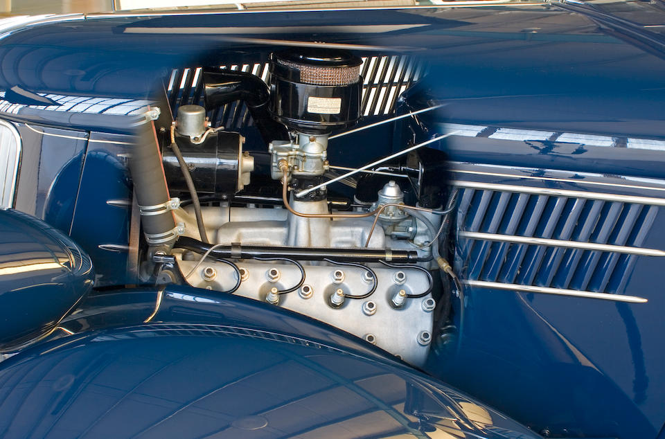The Dearborn Award-Winning,1936 Ford Model 68 Deluxe Phaeton  Chassis no. 32050750