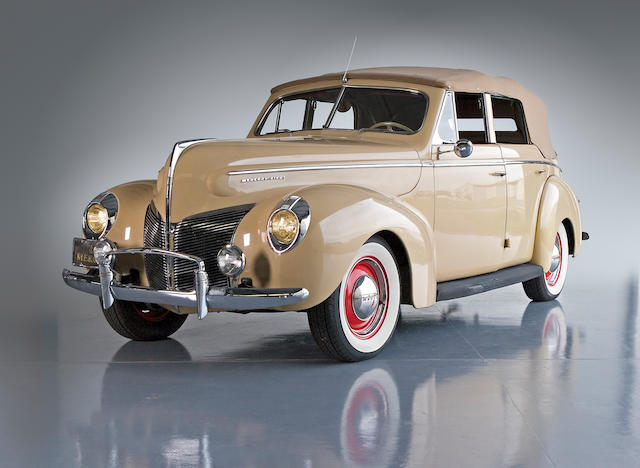 1940 Mercury 09A Convertible Sedan