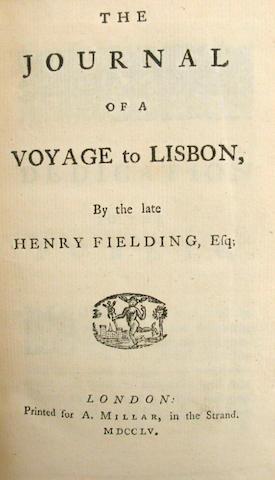 FIELDING, HENRY.  1707-1754.