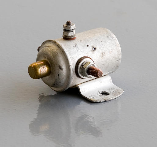 A rare 1937-1938 Ford push-button starter solenoid.