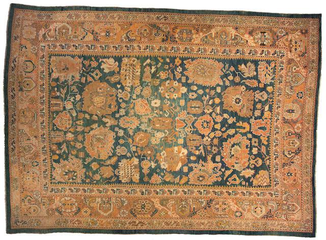 An Oushak carpet west Anatolia size approximately 10ft x 14ft 3in