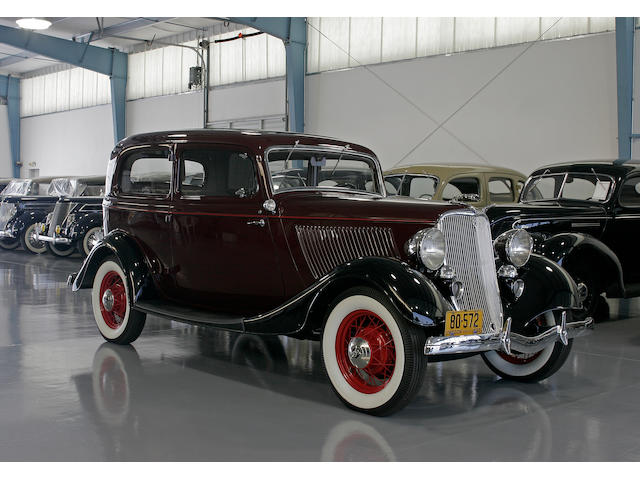 The Dearborn Award-Winning,1933 Ford Model 40 Deluxe Tudor Sedan  Chassis no. 18490534