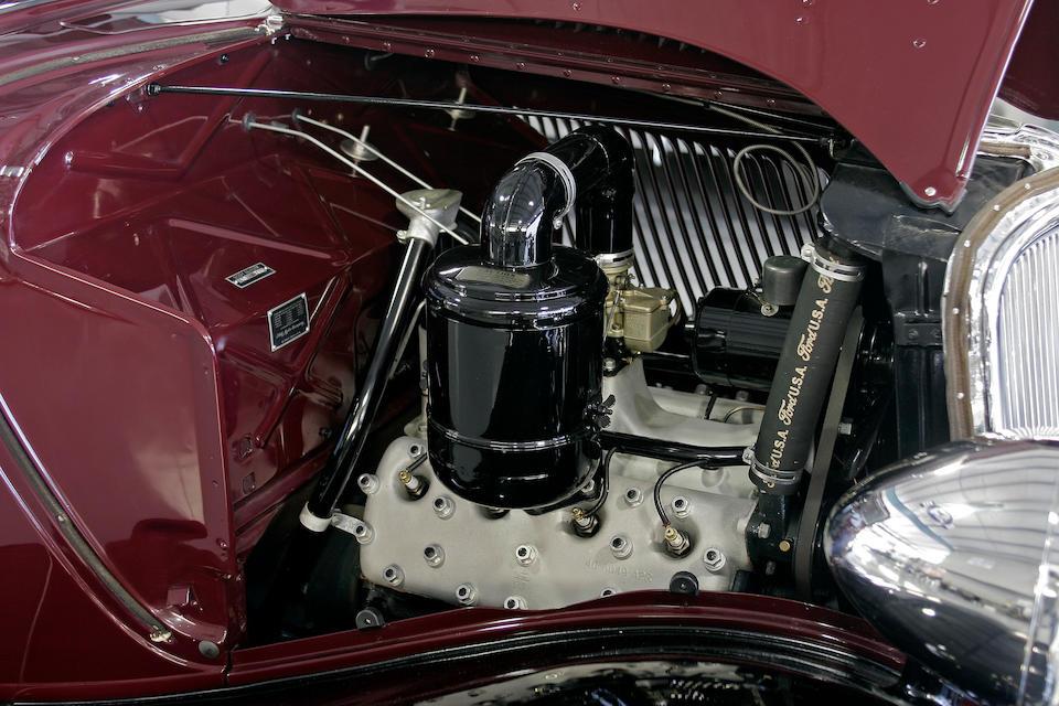 The Dearborn Award-Winning,1933 Ford Model 40 Deluxe Tudor Sedan  Chassis no. 18490534