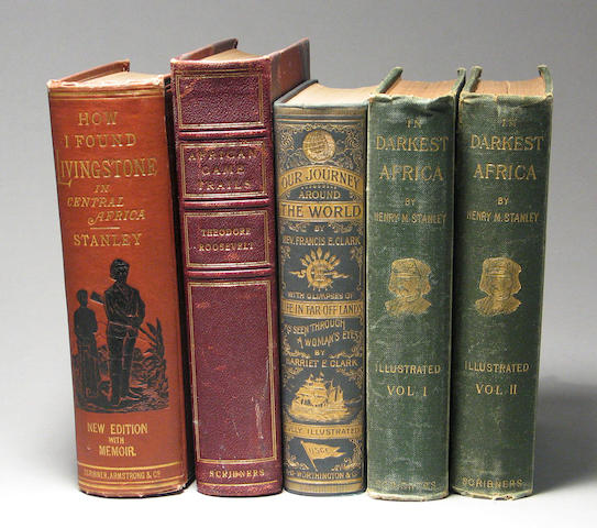 [HUNTING AND EXLORATION BOOKS.]