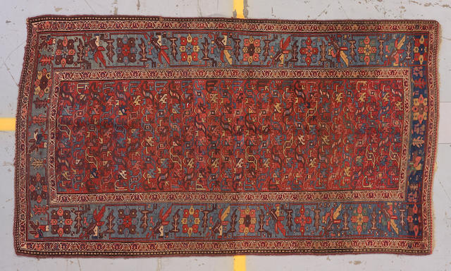 A Kurd Bidjar runner, circa 1920, Northwest Persia size approximately 7ft. 6in. x 4ft. 3in.